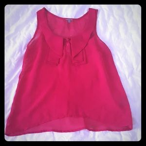 Fushia Charlotte Ruse shirt see through